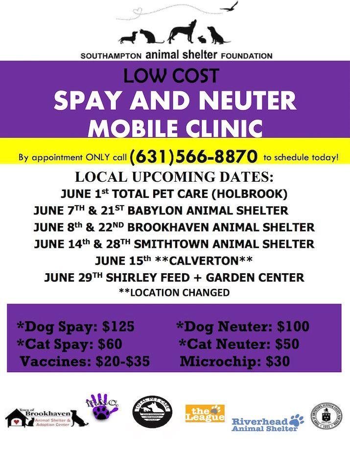 JUNE 2017 Mobile Clinic Schedule