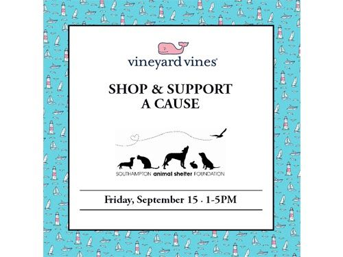 Shop To Support SASF with Vineyard Vines