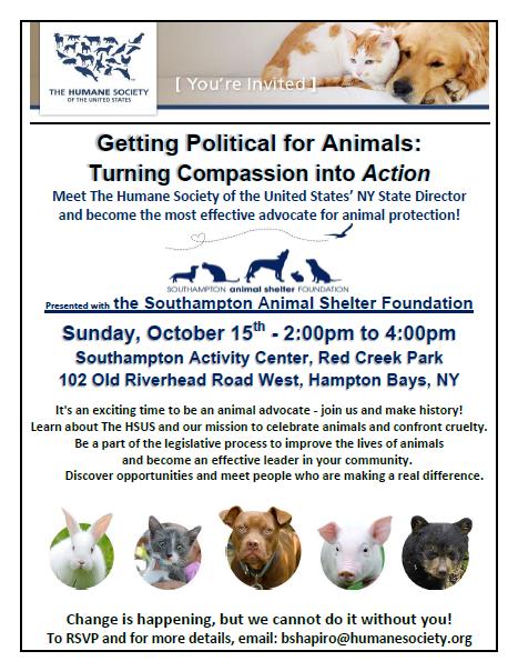 Humane Society Presentation